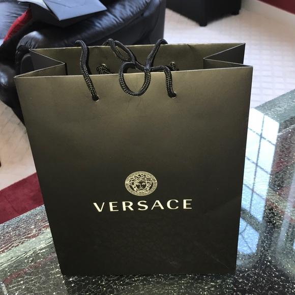 versace genuine bag m size paper shopping bag super popular 16606 ... 82297470f7a83